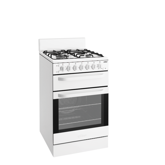 Chef Gas Top & Oven-CFG517WBLP
