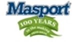 Masport Centenary logo website