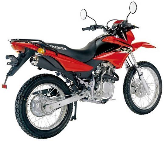 2014 Honda XR125L Motorcycle